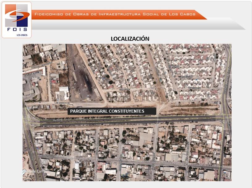 Construcción 1ra. Etapa Parque Integral Constituyentes PIC en CSL
