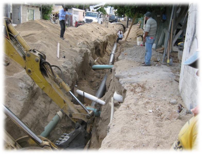 Construcción de emisor de presión del Arenal a Lagunitas